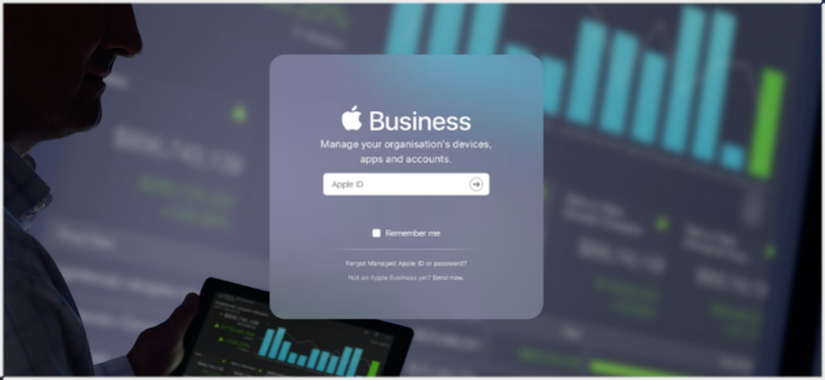 Business manager apple